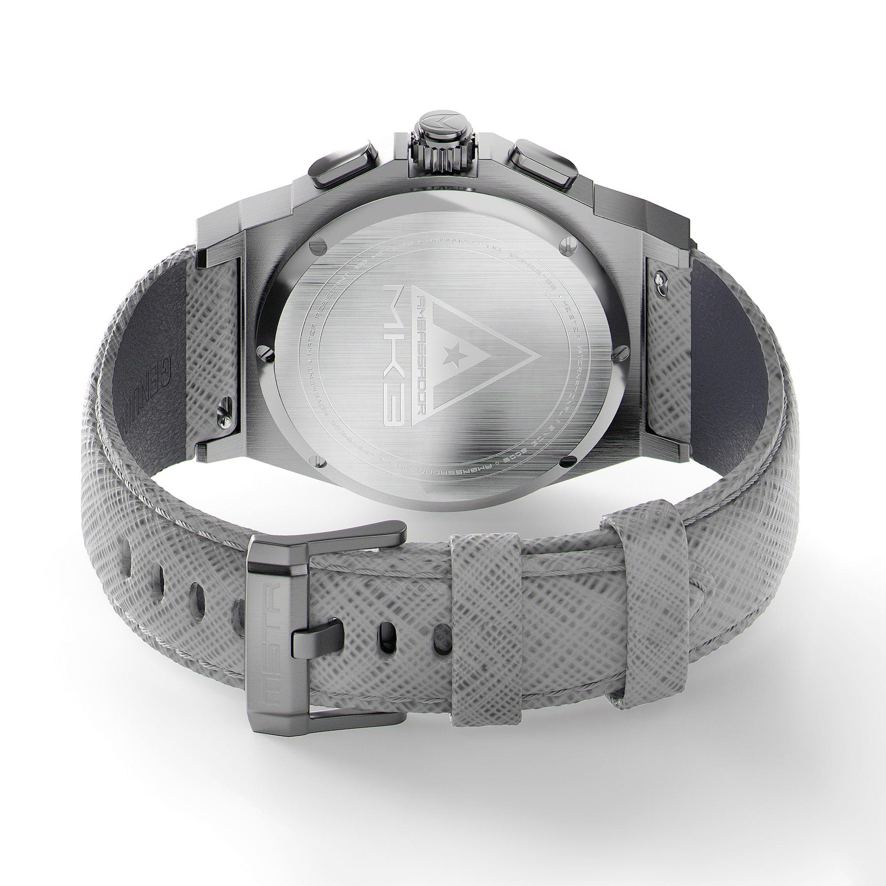 Titanium Grijs – Leer