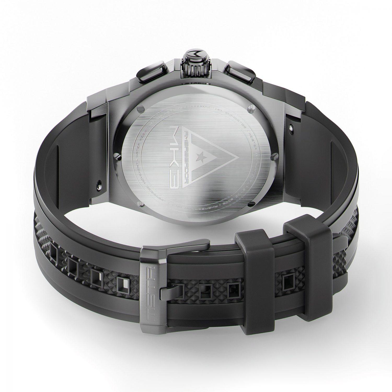 Titanium Grijs & Zwart
