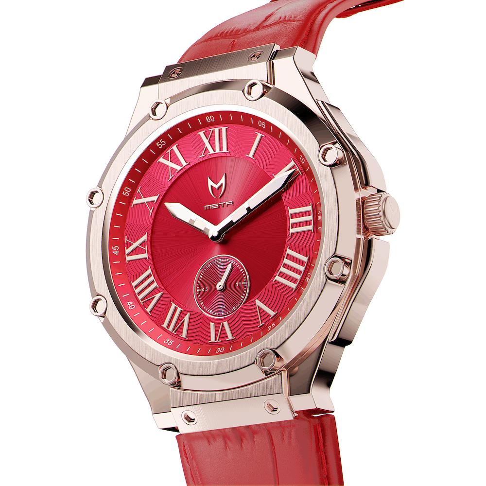 Rosé Goud & Rood – Leer