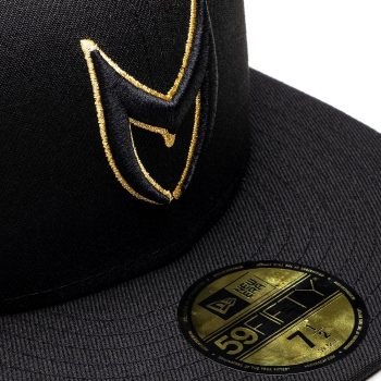 MSTR Cap - Zwart & Goud