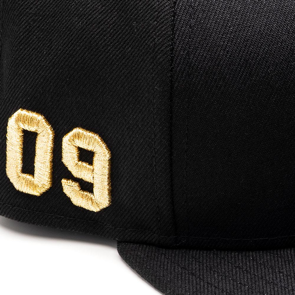 MSTR Cap – Zwart & Goud