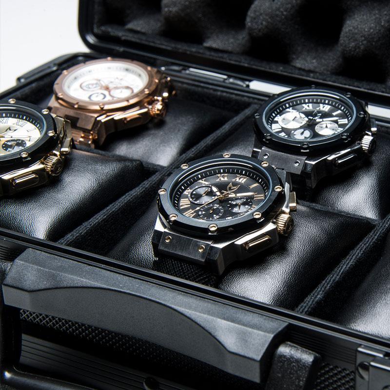 Aluminium Horloge Koffer
