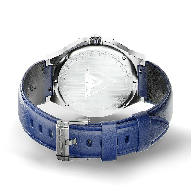 Zilver & Blauw - Leer