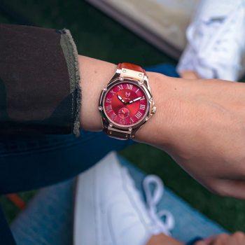 Rosé Goud & Rood - Leer