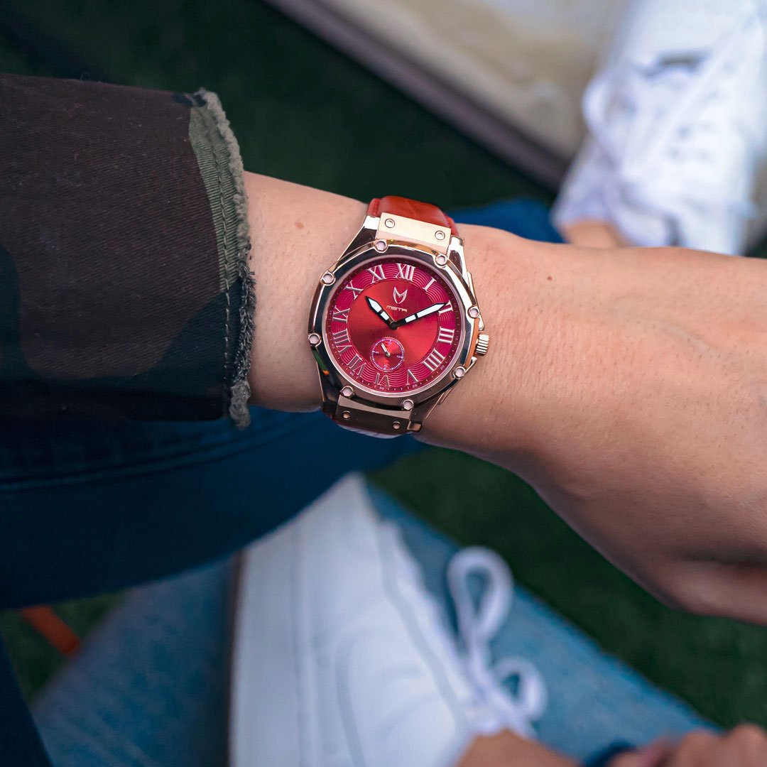 Rosé Goud & Rood