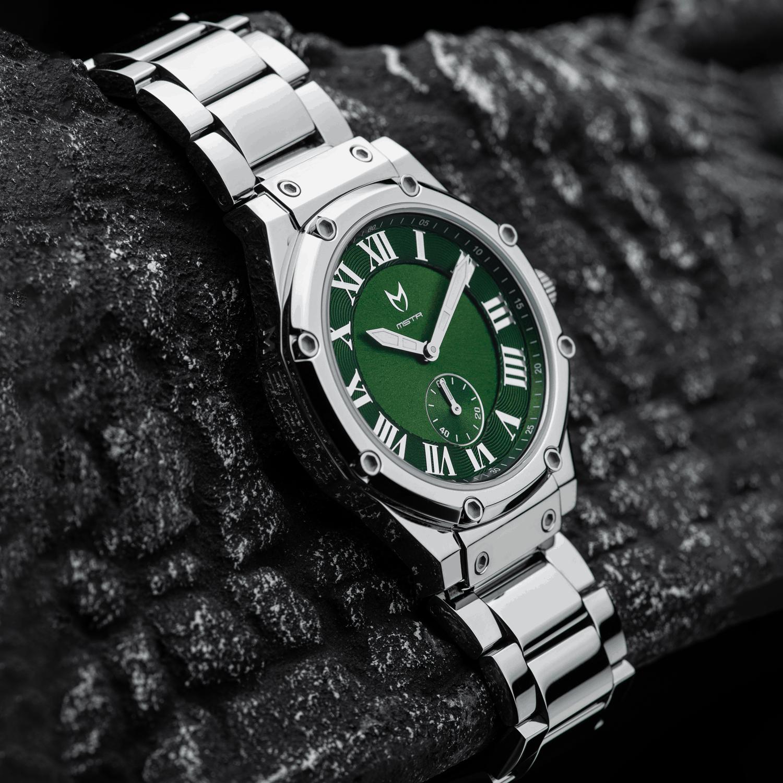 Zilver & Groen