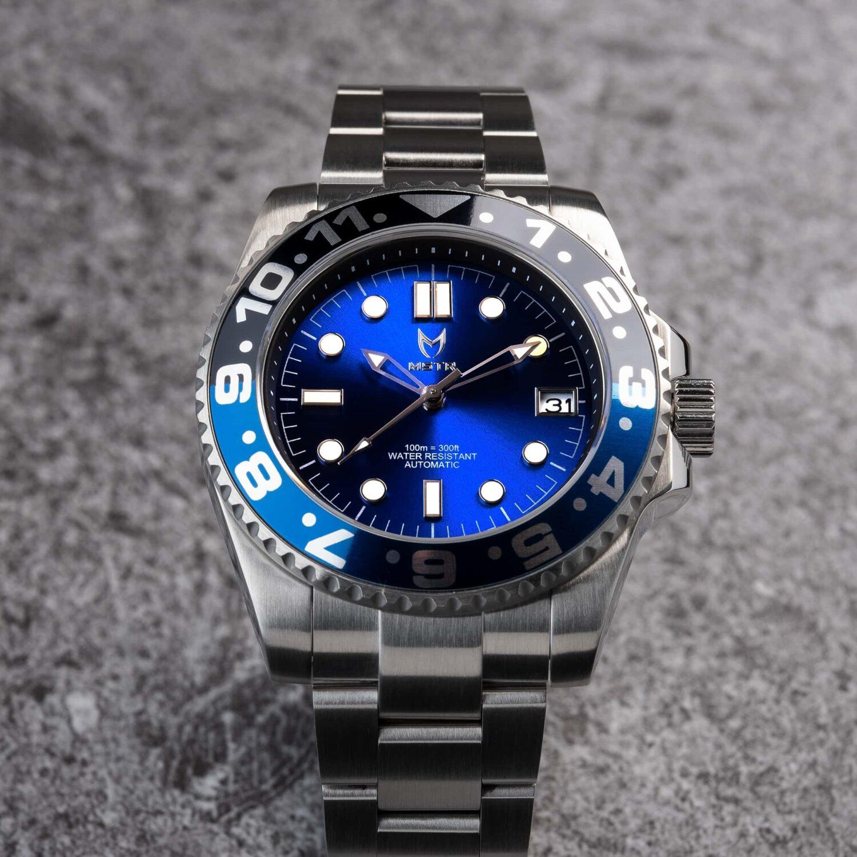 Automatic - Blauw & Zwart