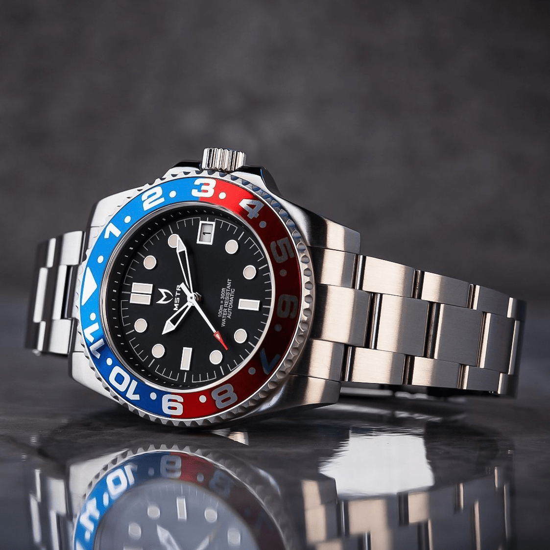 Automatic – Blauw & Rood