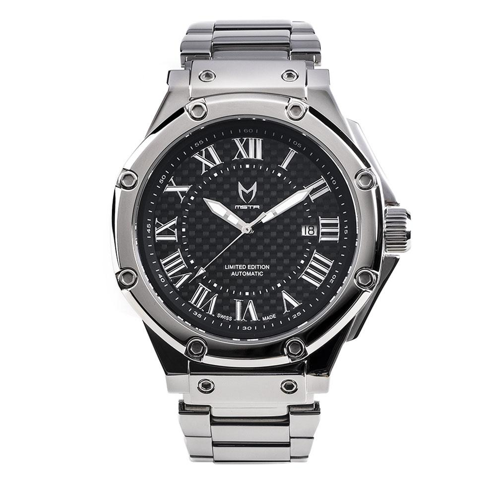 Swiss Made Automatic – Zilver