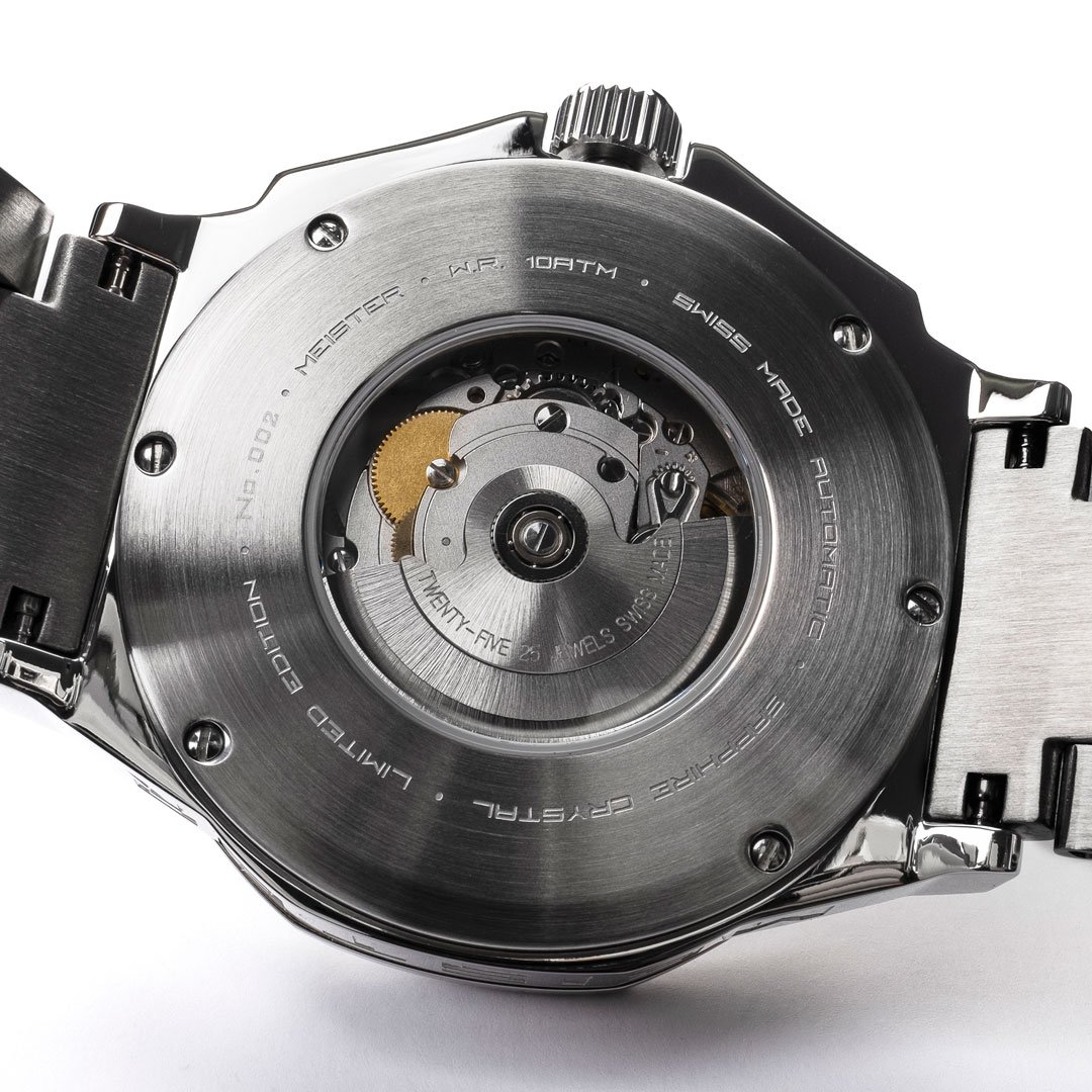 Swiss Made Automatic - Zilver